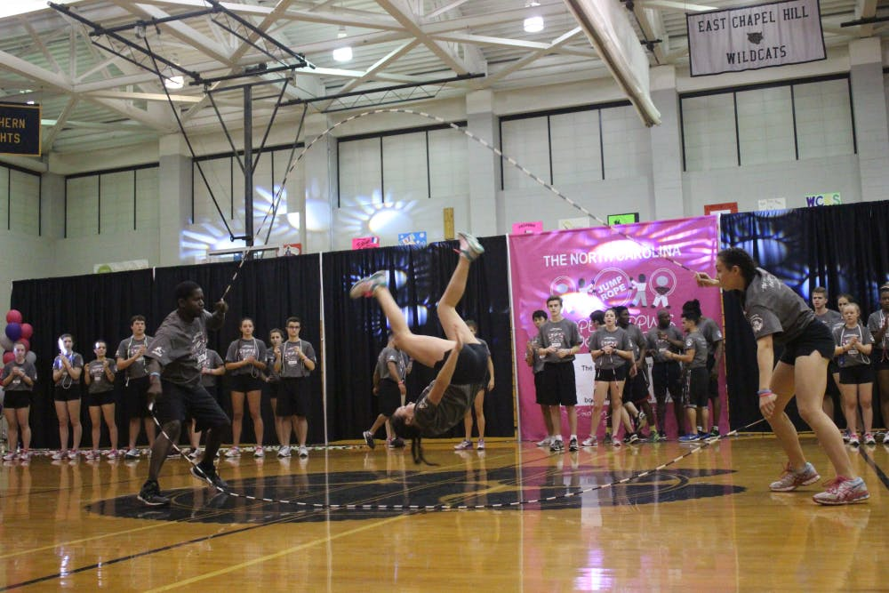 The Chapel Hill Bouncing Bulldogs host 28th annual jump rope workshop