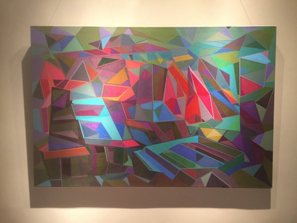 Peter Marin brings abstract style to Horace Williams House