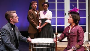 "Kenan Theatre Company is performing Oscar Wilde's ""The Importance of Being Earnest"" from Mar. 1 to 5. Photo courtesy of Huth Photo."