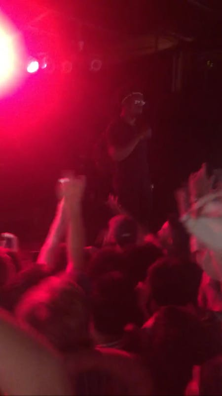 Ugly God performed at Cat's Cradle in Carrboro Friday.