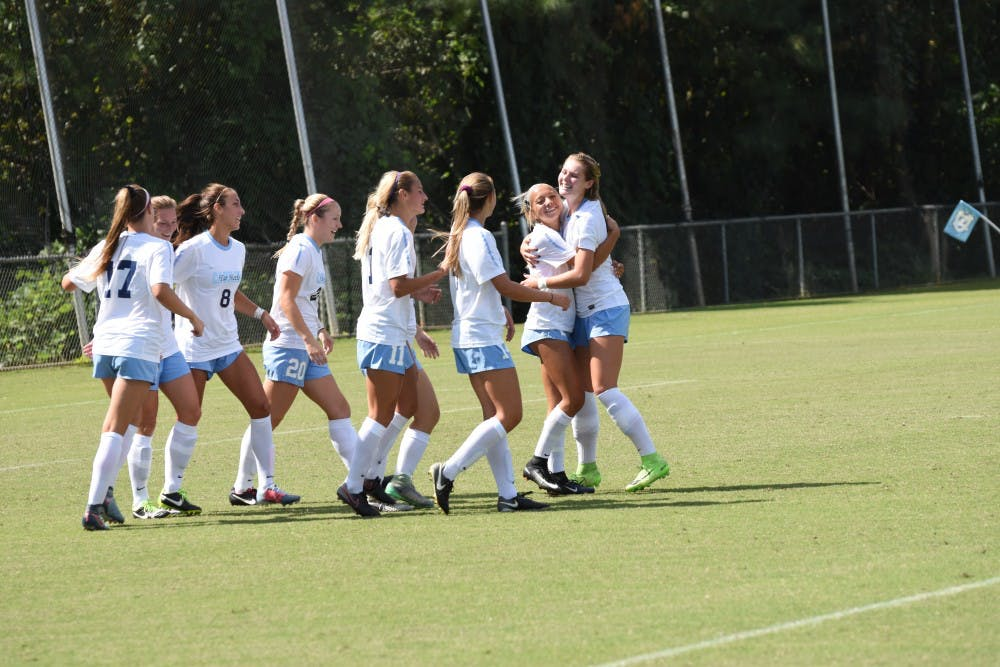 UNC women's soccer shuts out Syracuse, remains undefeated in ACC