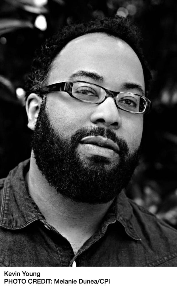 Q&A with Thomas Wolfe Award winner Kevin Young