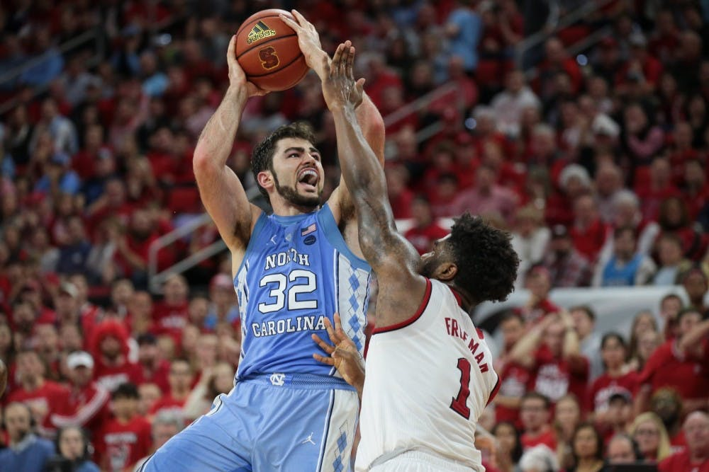Luke Maye's 27-point second half carries UNC to 96-89 win over N.C. State