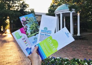 Campus Health offers a variety of pamphlets on sexual wellness.