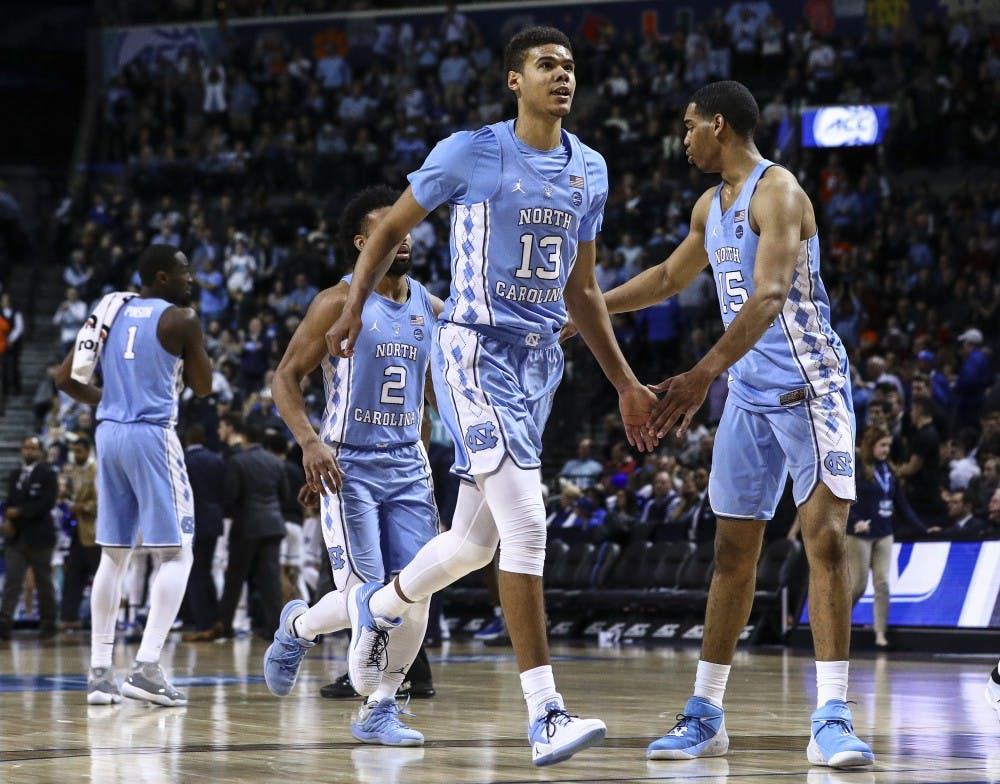 Cameron Johnson will return to North Carolina for his final season of eligibility