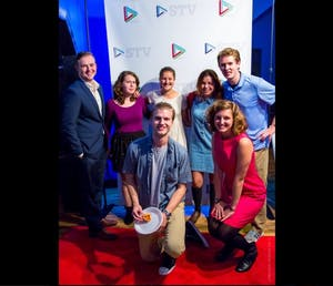 UNC Student TV will debut their new season of shows with a red carpet premiere. Photo courtesy of Hollie Rutledge.