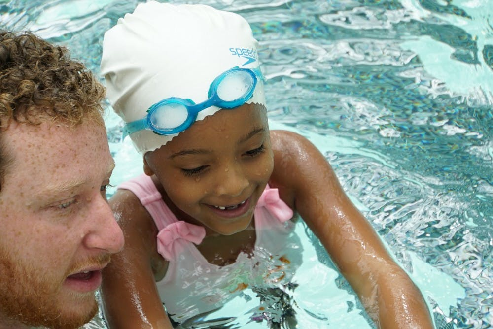 Carolina Swim Clinic makes community impact by providing swim lessons to kids