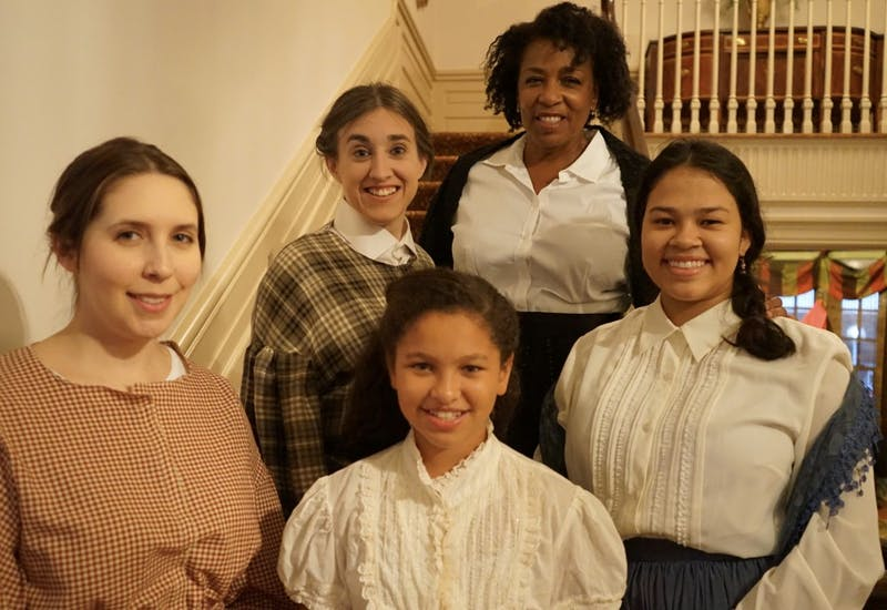"The Women's Theatre Festival is putting on an immersive performance of ""Little Women."" Photo courtesy of Nick Popio."
