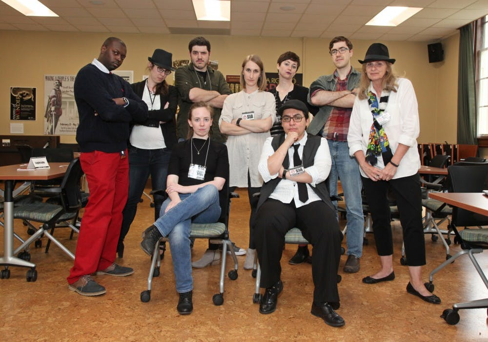 Wilson Library hosts its 11th rendition of their live-action game, Clue