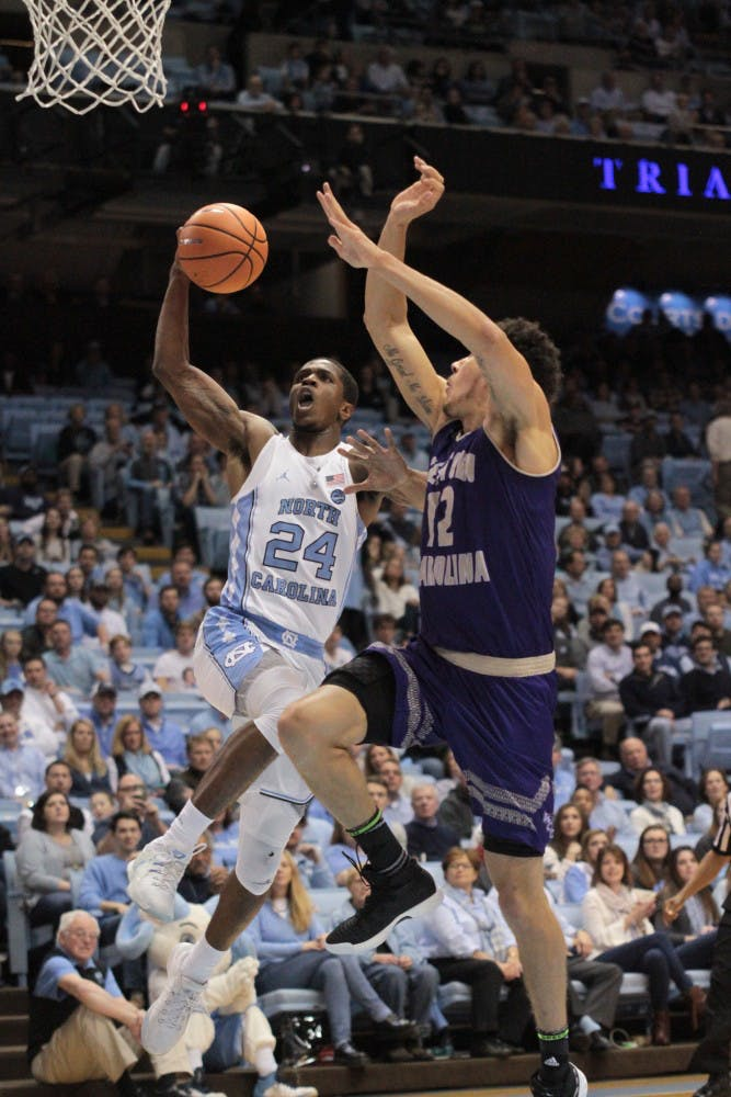 Juniors Kenny Williams and Luke Maye stay hot, UNC shoots 72.7 percent from three in win over WCU