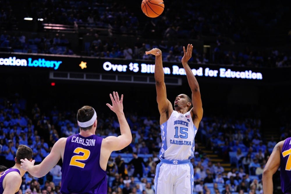 Brooks, Manley and Felton make debuts for North Carolina men's basketball