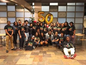 UNC's Black Student Movement created a welcome video for newly admitted Black students to encouragement enrollment. Photo Courtesy of Black Student Movement