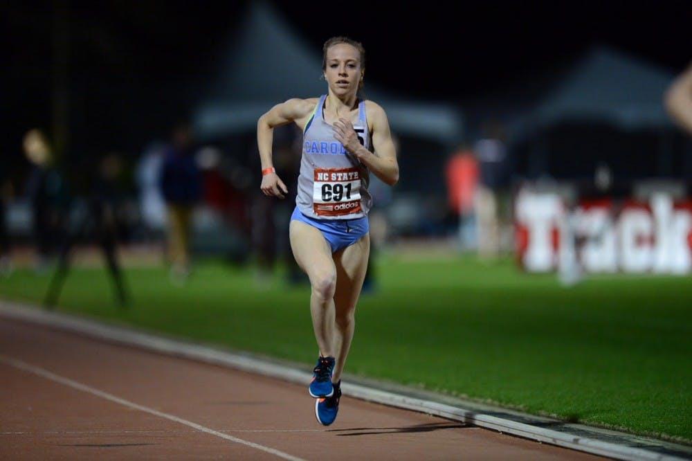 Caroline Alcorta records second fastest 10,000-meter time in UNC history