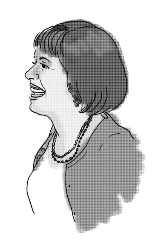 Carol Folt illustration