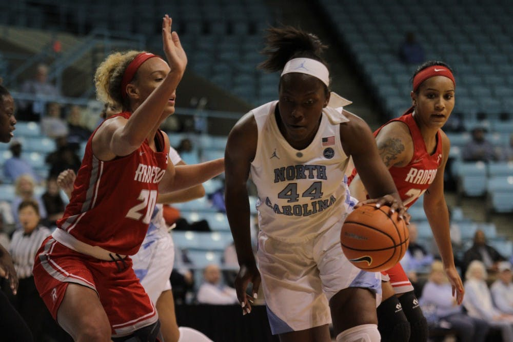 Janelle Bailey turns in career night in women's basketball win over Radford