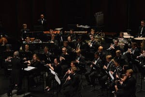 The Wind Ensemble and Symphony Band will perform Monday. Photo courtesy of Alessandro Uribe-Rheinbolt.