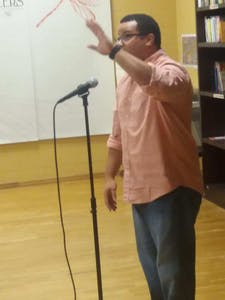 The Sacrificial Poets will be hosting a slam poetry open mic night on Sept. 5. Photo courtesy of DJ Rogers.