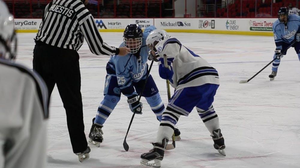 Carolina Hockey goes 3-1 over Duke at PNC Arena
