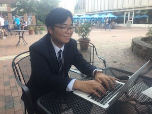 Jason Hong has taken an online class at UNC.