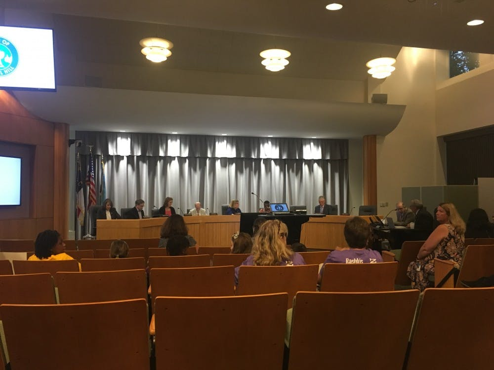 Chapel Hill Town Council meets on Sept. 27