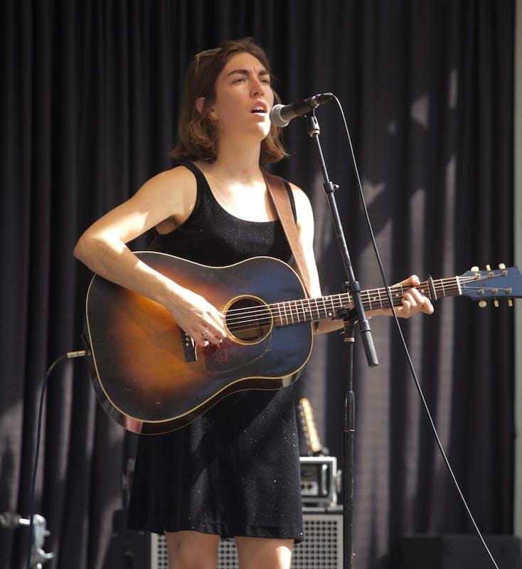 Maya de Vitry of The Stray Birds performs at Yep Roc 20.