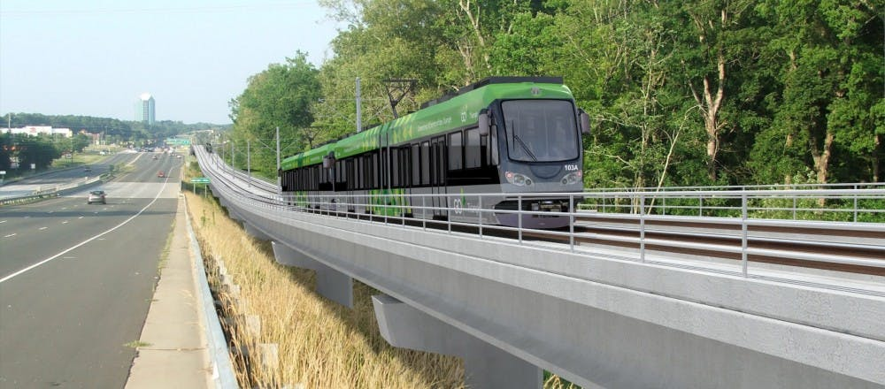 Light rail funding continues to stay on track