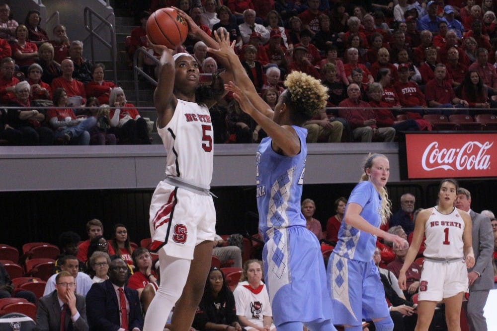 After promising first quarter, UNC women's basketball is routed by N.C. State