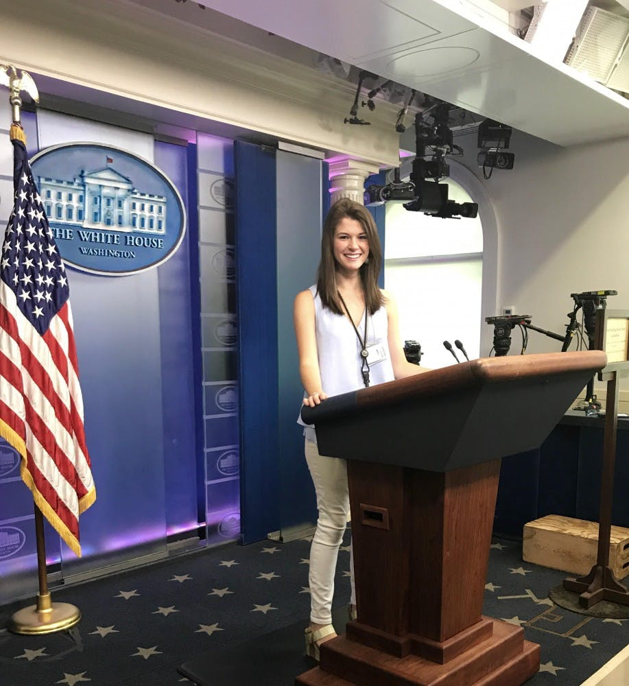 UNC student spends her summer at the White House