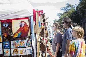 The 45th annual Festifall is on Sunday on Franklin Street. Photo courtesy of Katie Garcia Photography.