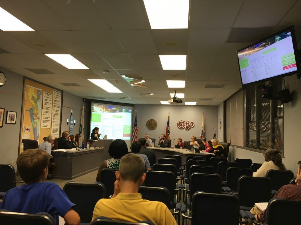 Carrboro Board of Aldermen meet to discuss DACA workshops, floodplain areas and affordable housing