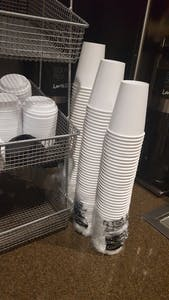 Cups returned to Lenoir Dining Hall Thursday night.