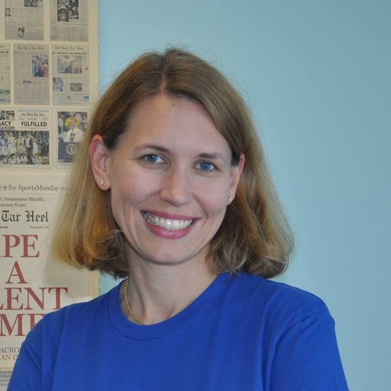 Former newsroom adviser Erica Perel named general manager of The Daily Tar Heel