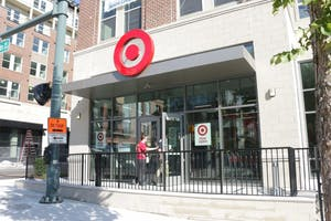 The Target in Carolina Square opened in July.