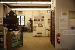 At the Orange County Historical Museum in Hillsborough, North Carolina, visitors are taken into the past through artifacts and stories.