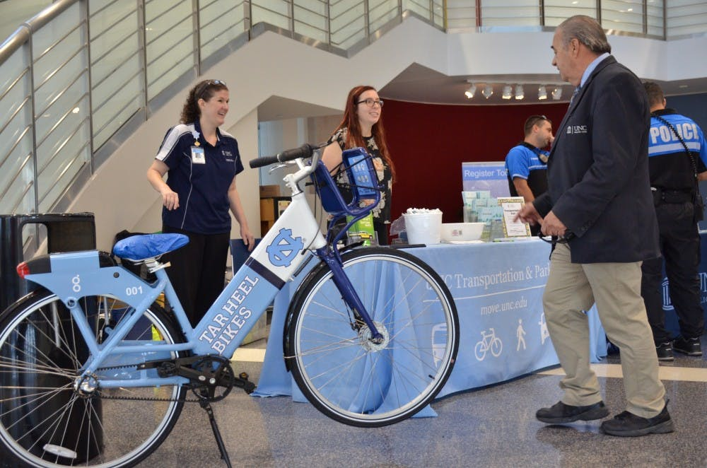 Transportation fair hopes to help people get around town
