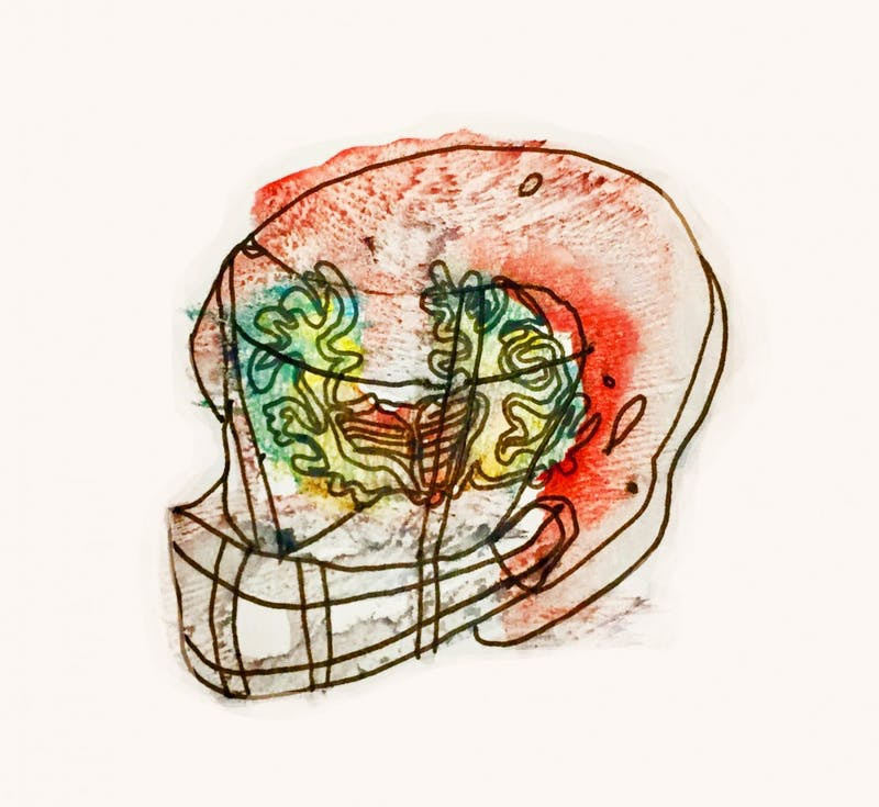 CTE football illustration
