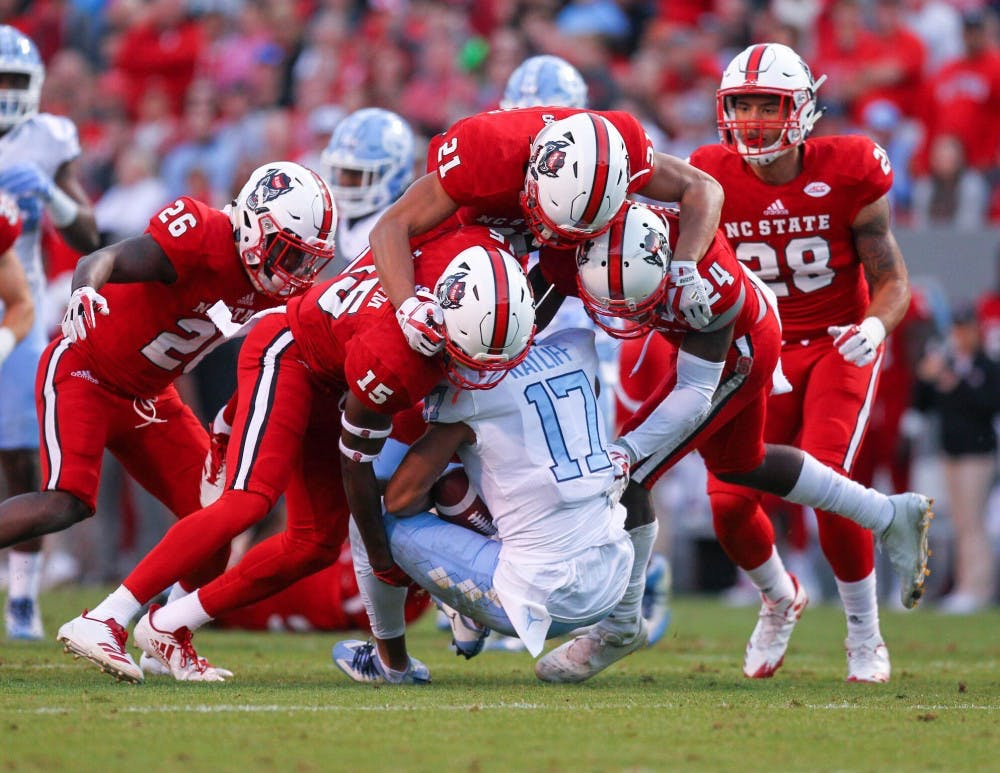 North Carolina football's season ends in frustration with 33-21 loss to N.C. State