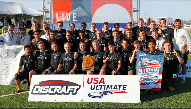 The UNC ultimate frisbee team, Darkside, won the national championship in Milwaukee on Memorial day. Photo courtesy of Matthew Gouchoe-hanas