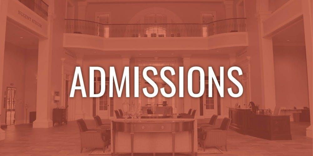 admissions graphic
