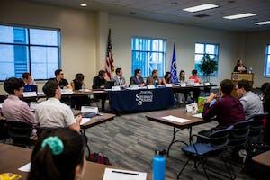 GVL / Matt ReadGVSU Student Senate on Thursday September 14, 2017.