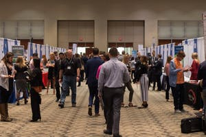 GVL / Dylan McIntyre. On Thursday, October 19, Grand Valley held their annual fall semester career fair at the Devos Place.