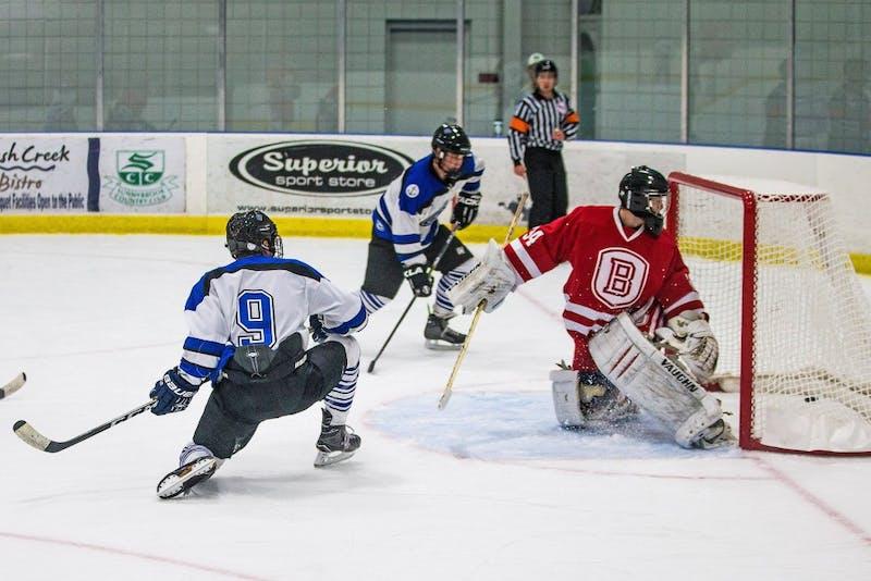 GVL / Matt ReadGVSU D2 Hockey takes the ice on Saturday September 30, 2017