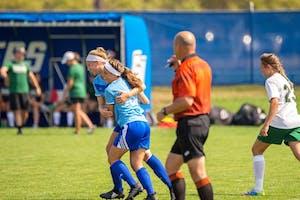 GVL / Dylan McIntyre   GVSU Women's Soccer on Sunday September 17, 2017.