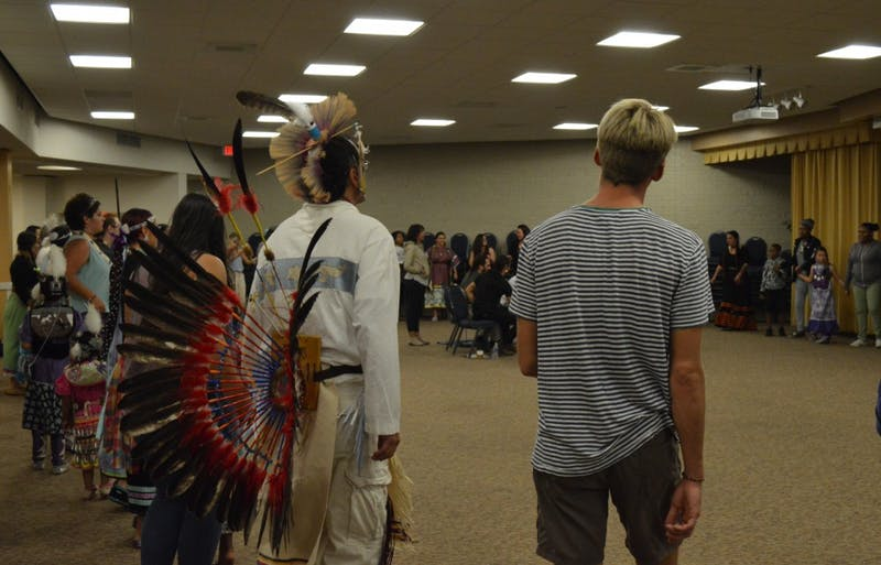 GVL/Hannah Zajac-- Indigenous People's Day at Grand Valley State University on 9 Oct 2017.