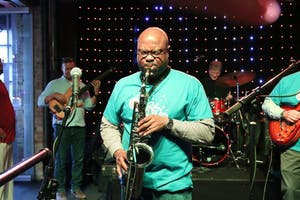Isaac Norris performs at the GRandJazzFest 2018 Lineup Reveal Party at The BOB in Grand Rapids. Courtesy / GRand Jazz Fest Facebook