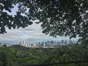 Junior Alyxandria Sundheimer caught a view of Panama City while hiking during her dance service trip. She went on the trip with IU's chapter of Movement Exchange.