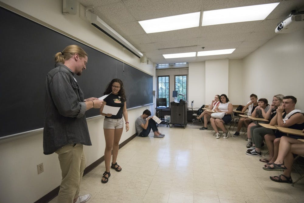 Students experience, discuss hardships in Tunnel of Oppression