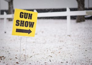 Central Indiana Gun Shows held a gun show Feb. 17-18 at the Monroe County Fairgrounds. The show was one of about 50 shows that Central Indiana Gun Shows puts on each year.