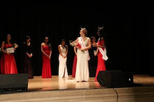 Sophomore Sophia Padgett was crowned Miss Indiana University on Sunday, Feb. 18. The pageant took place in Alumni Hall at the Indiana Memorial Union.