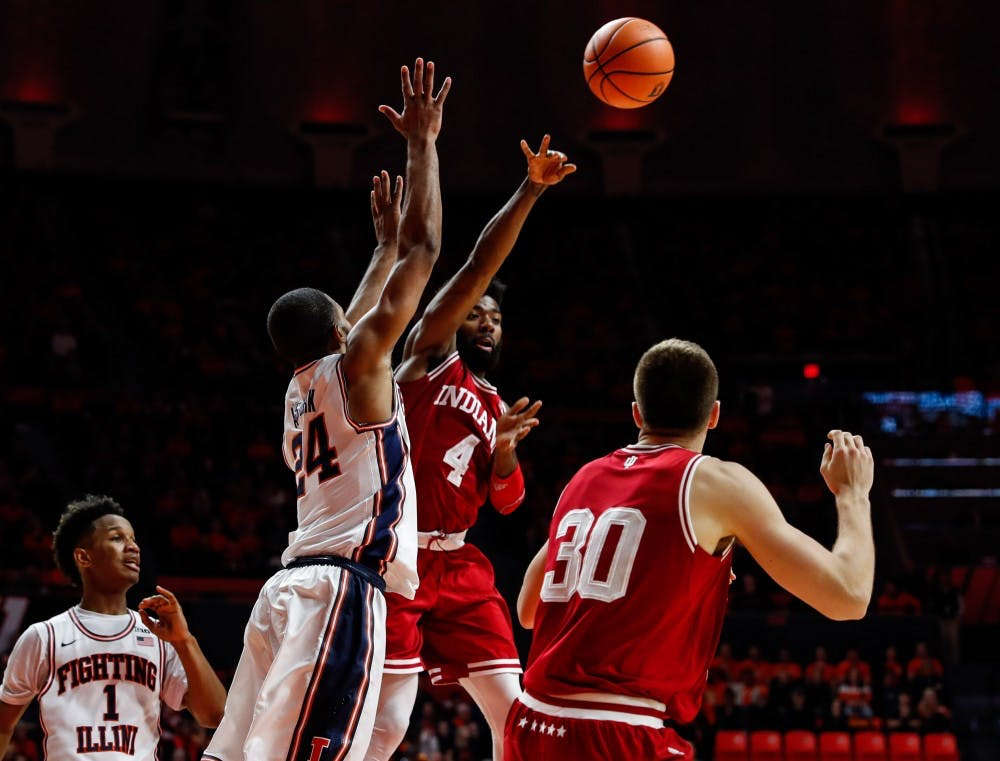 Guyon_IU vs. Illinois Basketball_01242018_010